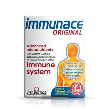 VITABIOTICS VITABIOTICS IMMUNACE ORIGINAL 30 TABLETS
