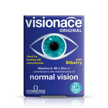 VITABIOTICS VITABIOTICS VISIONACE ORIGINAL WITH BILBERRY 30 TABLETS