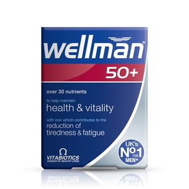 VITABIOTICS VITABIOTICS WELLMAN 50+ 30 TABLETS