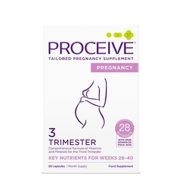 PROCEIVE PROCEIVE PREGNANCY TRIMESTER 3 60 CAPSULES