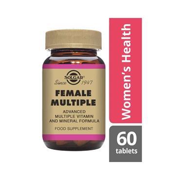 SOLGAR FEMALE MULTIPLE TABS 60 E1074