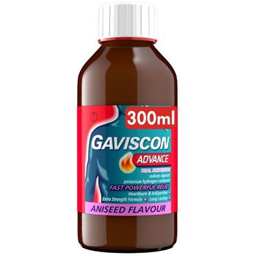 GAVISCON ADVANCE ORAL SUSPENSION 300ML