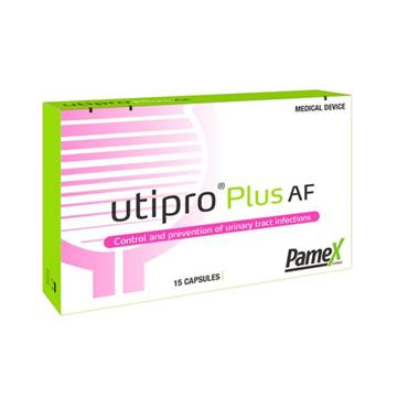 PAMEX UTIPRO PLUS AF 15 CAPSULES FOR URINARY TRACT INFECTIONS