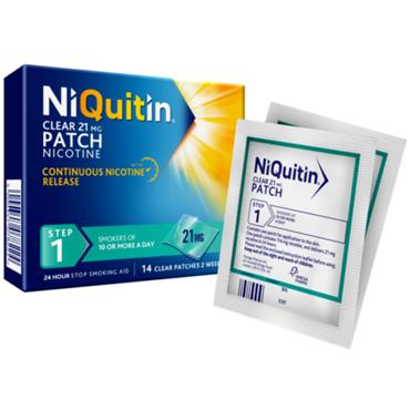 NIQUITIN STEP 1 21MG 14 PATCHES