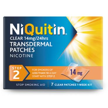 NIQUITIN STEP 2 14MG  7 PATCHES