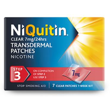 NIQUITIN STEP 3 7MG 7 PATCHES