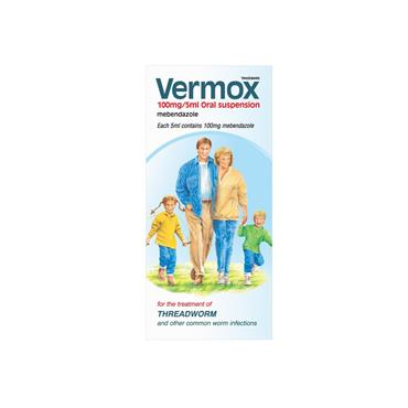 VERMOX ORAL SUSPENSION FOR THE TREATMENT OF THREADWORM 30ML