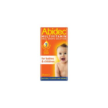 ABIDEC MULTIVITAMIN ORAL DROPS SOLN 25ML PH ONLY