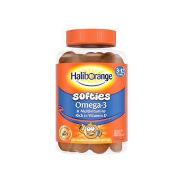 HALIBORANGE HALIBORANGE OMEGA 3 SOFTIES 60 PACK