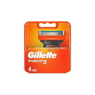 GILLETTE FUSION 5 BLADES 4 PACK