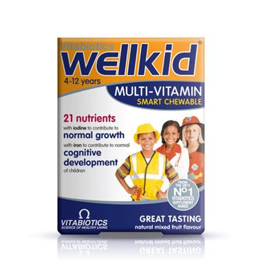 VITABIOTICS WELLKID MULTIVIT