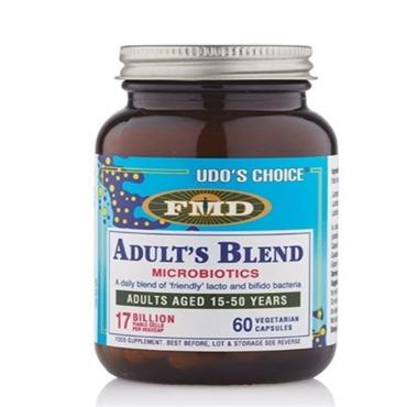 UDOS CHOICE ADULT'S BLEND MICROBIOTICS 60 CAPSULES