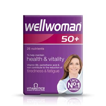VITABIOTICS VITABIOTICS WELLWOMAN 50 PLUS