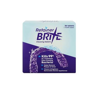 RETAINER BRITE CLEANING TABLETS (36 PACK)