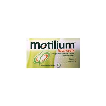 MOTILIUM FASTMELTS FOR NAUSEA AND VOMITING 10MG 10 TABLETS