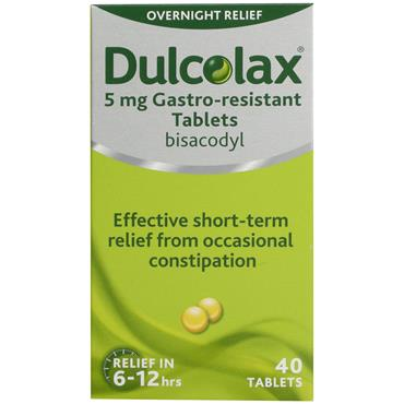 DULCOLAX 5MG GASTRO RESISTANT TABLETS