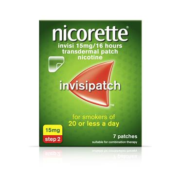 NICORETTE INVISIPATCH STEP 2 15MG (7 PATCHES)