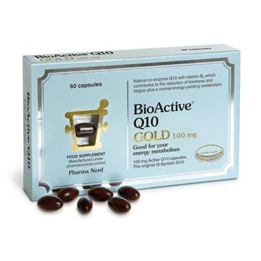 PHARMA NORD BIOACTIVE Q10 GOLD 100MG 60 CAPSULES