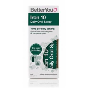 BETTER YOU IRON 10 DAILY ORAL SPRAY 25ML