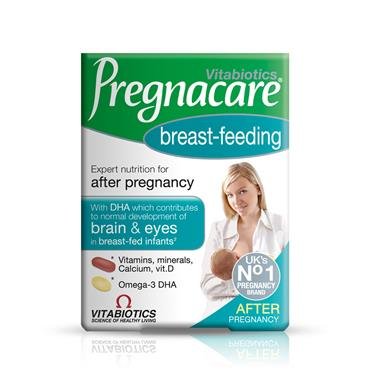 VITABIOTICS PREGNACARE BREASTFEEDING DUAL PACK