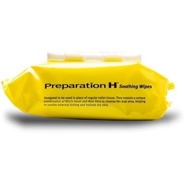 PREPARATION H SOOTHING WIPES 30 PACK