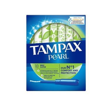 TAMPAX PEARL SUPER 18 PACK
