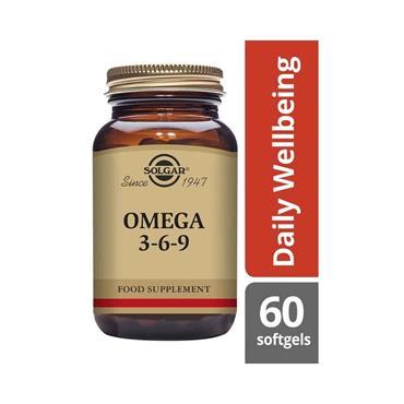 SOLGAR OMEGA 3 6 9 SOFTGELS 60 E2027
