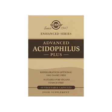 SOLGAR ACIDOPHILUS PLUS 60S E14
