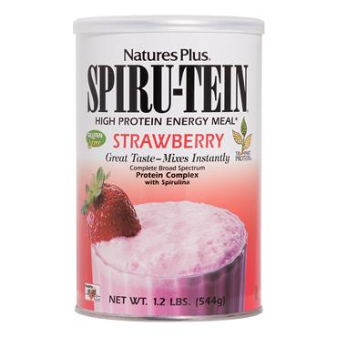 NATURES PLUS NATURES PLUS SPIRUTEIN STRAWBERRY 544 GRAMS