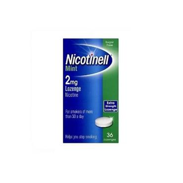 NICOTINELL MINT 2MG COMPRESSED LOZENGE (36 PACK)