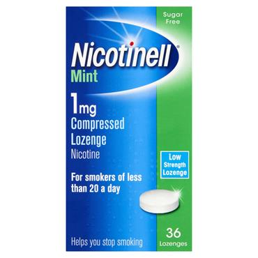 NICOTINELL MINT 1MG COMPRESSED LOZENGE (36 PACK)