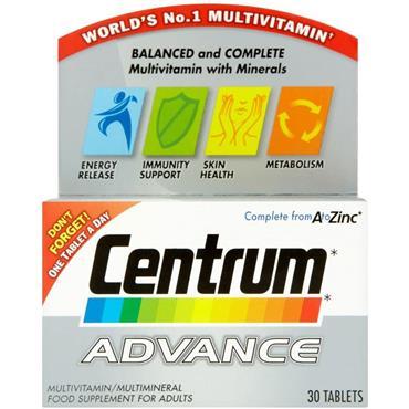 CENTRUM ADVANCE 30 TAB