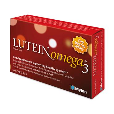 LUTEIN OMEGA 3 CAPSULES (60 PACK)