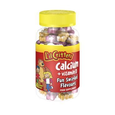 LIL CRITTERS CALCIUM + VITAMIN D 60 PACK