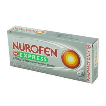 NUROFEN EXPRESS 200MG IBUPROFEN TABLETS