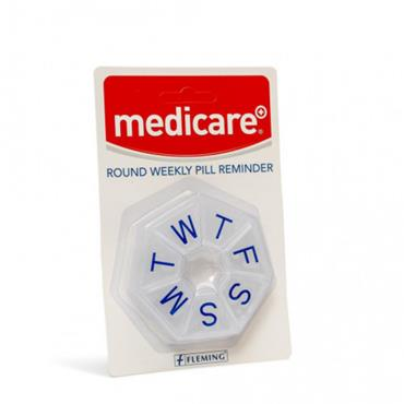 MEDICARE ROUND WEEKLY PILL REMINDER