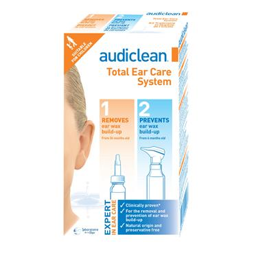 AUDICLEAN TOTAL EAR CARE SYSTE