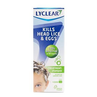 LYCLEAR TREATMENT SHAMPOO & HEADLICE COMB 200ML