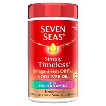 SEVEN SEAS CLO MULTI VIT 90S