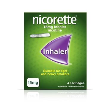 NICORETTE INHALER 15MG 4 CARTRIDGES