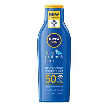 NIVEA SUN KIDS PROTECT AND CARE SPF 50 200ML