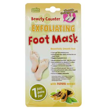 BEAUTY COUNTER EXFOLIATING FOOT MASK