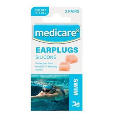 MEDICARE EAR PLUGS SILICONE