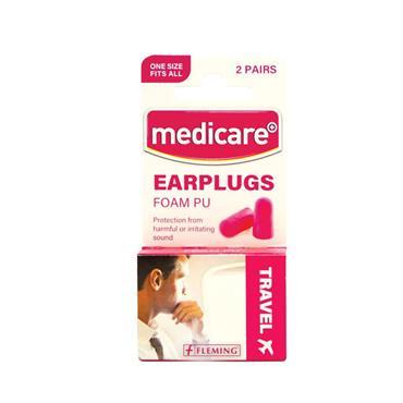 MEDICARE EAR PLUGS FOAM