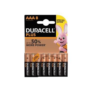 DURACELL AAA 8 PACK