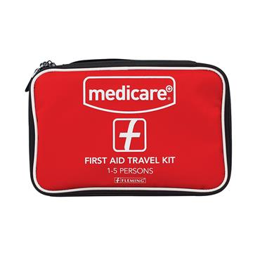 MEDICARE FIRST AID TRAVEL KIT (1-5 PERSONS)