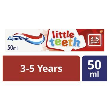 AQUAFRESH LITTLE TEETH 3-5 YEARS 50ML TOOTHPASTE