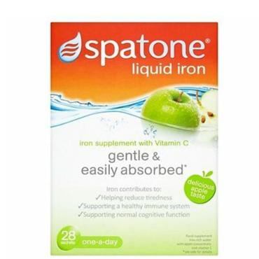 SPATONE APPLE LIQUID IRON SACHETS