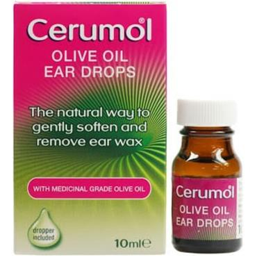 CERUMOL OLIVE OIL EAR DROPS 10
