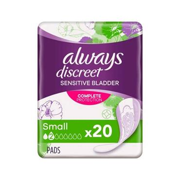ALWAYS DISCREET SMALL  PADS 20